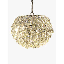 Buy John Lewis Alexa Tear Drop Ceiling Light Pendant Online at johnlewis.com