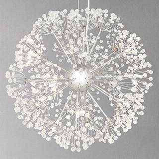 Chandelier crystal ceiling lighting john lewis john lewis alium ceiling light aloadofball Gallery