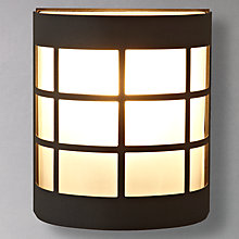 Buy John Lewis Classic Canterbury Wall Light, Black Online at johnlewis.com