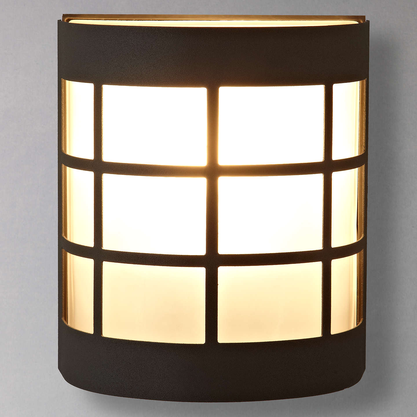 Porch Light John Lewis: John Lewis Classic Canterbury Wall Light, Black At John Lewis