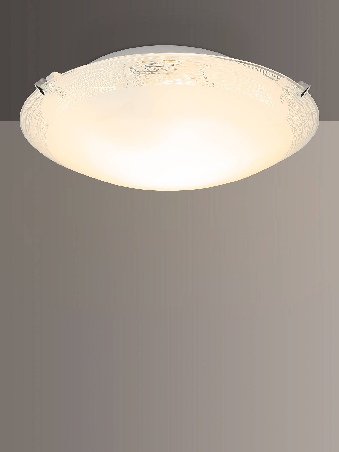 John Lewis Partners Conrad Flush Ceiling Light