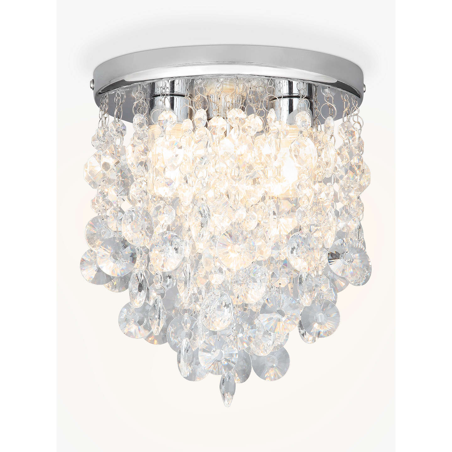 crystal lights for bathroom lewis katelyn bathroom flush ceiling light at 18005