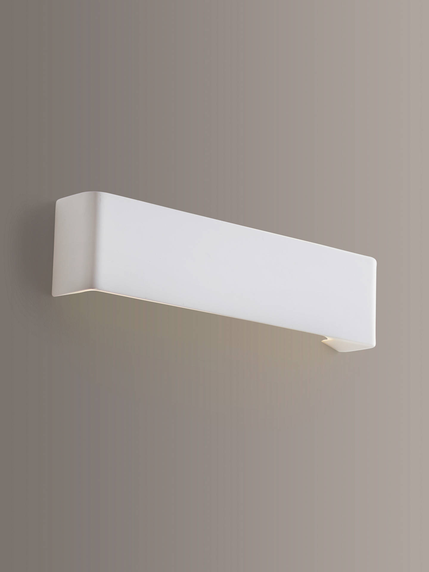 Buy John Lewis & Partners Lines LED Wash Wall Light Online at johnlewis.com