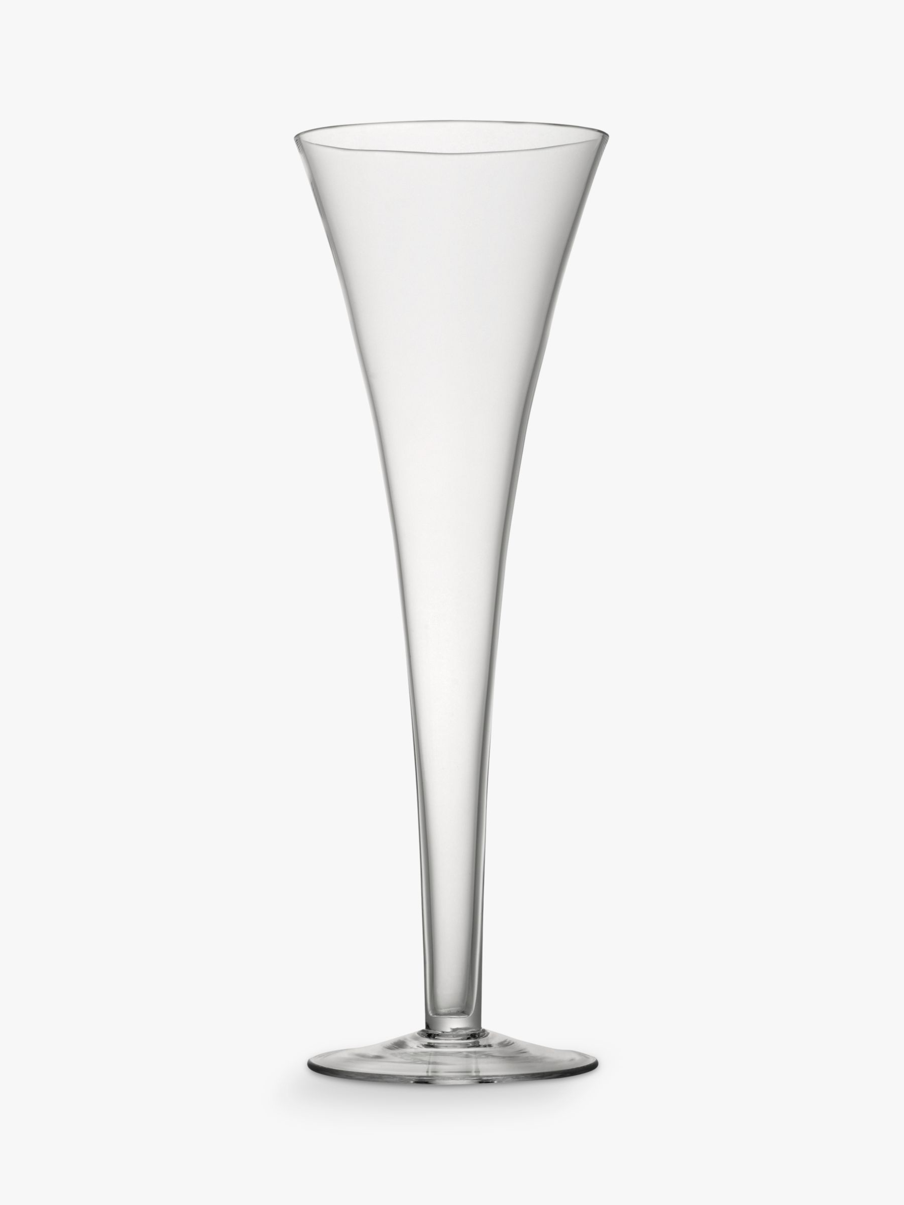 LSA International LSA International Bar Collection Flutes, Set of 2, 200ml, Clear