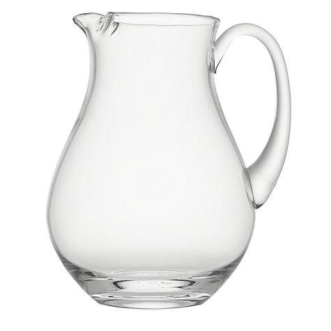 Buy LSA International Bar Collection Ice Lip Jug, 2.7L Online at johnlewis.com