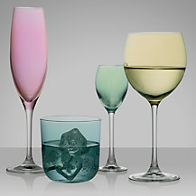 LSA International Polka Pastel Glassware