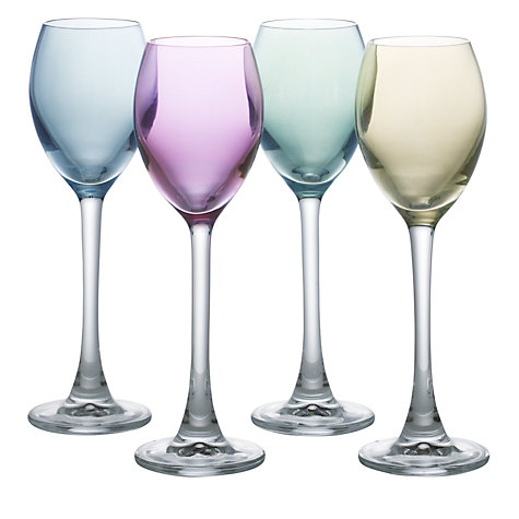 Buy LSA International Polka Pastel Liqueur Glasses, Set of 4 Online at johnlewis.com
