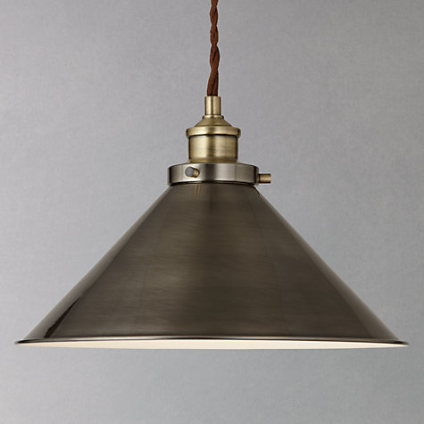 Buy John Lewis Tobias Resto Pendant Ceiling Light Online at johnlewis.com  ...