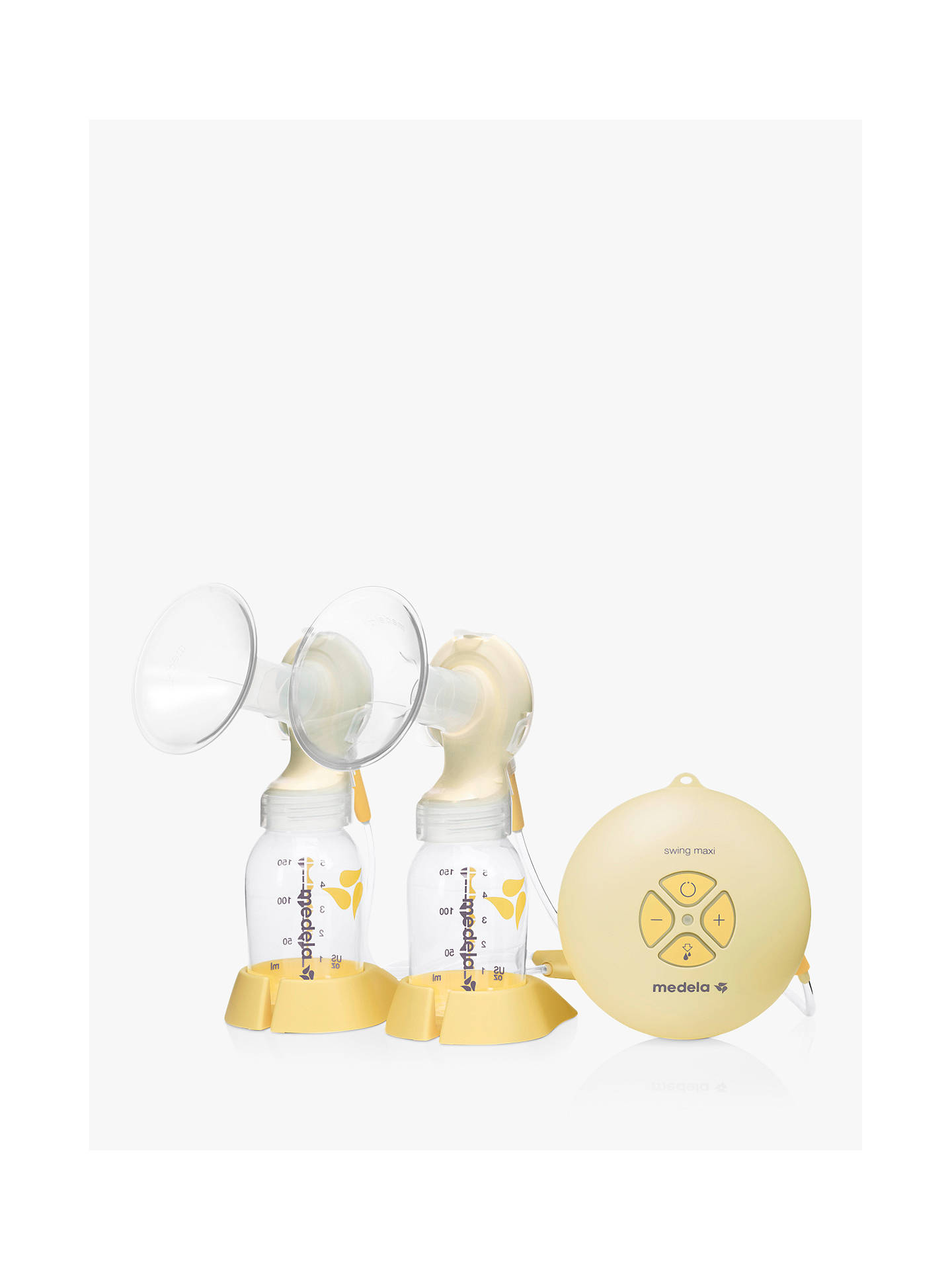 0e1cfb36d4688 Buy Medela Swing Maxi Double Electric Breast Pump Online at johnlewis.com  ...