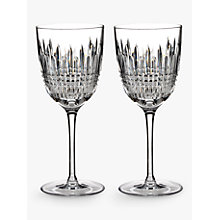 Buy Waterford Lismore Diamond Cut Lead Crystal Goblet, Set of 2 Online at johnlewis.com