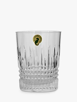 Waterford Lismore Diamond Cut Lead Crystal Tumbler, Set of 2, 125ml, Clear