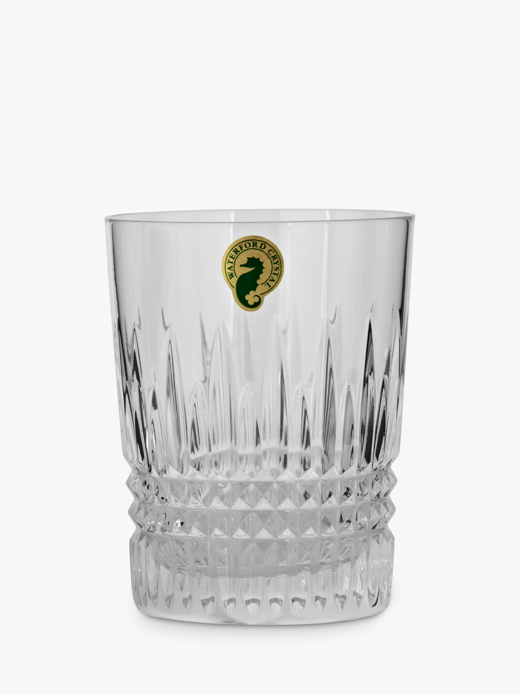 Waterford Waterford Lismore Diamond Cut Lead Crystal Tumbler, Set of 2, 125ml, Clear