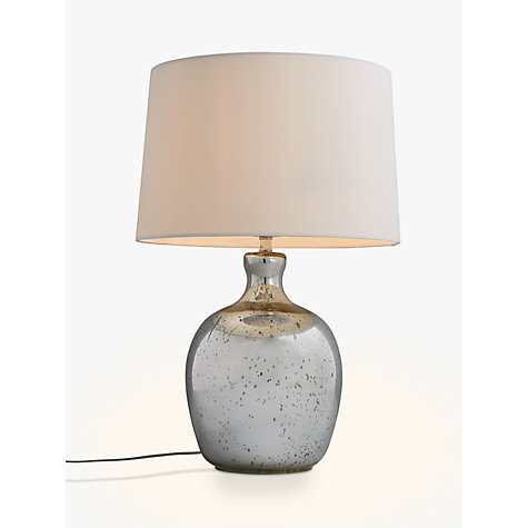... Buy John Lewis Tabitha Distressed Mirror Table Lamp Online At  Johnlewis.com ...