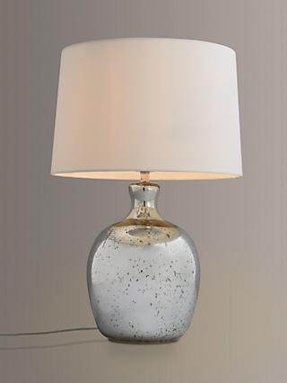 John Lewis & Partners Tabitha Distressed Mirror Table Lamp