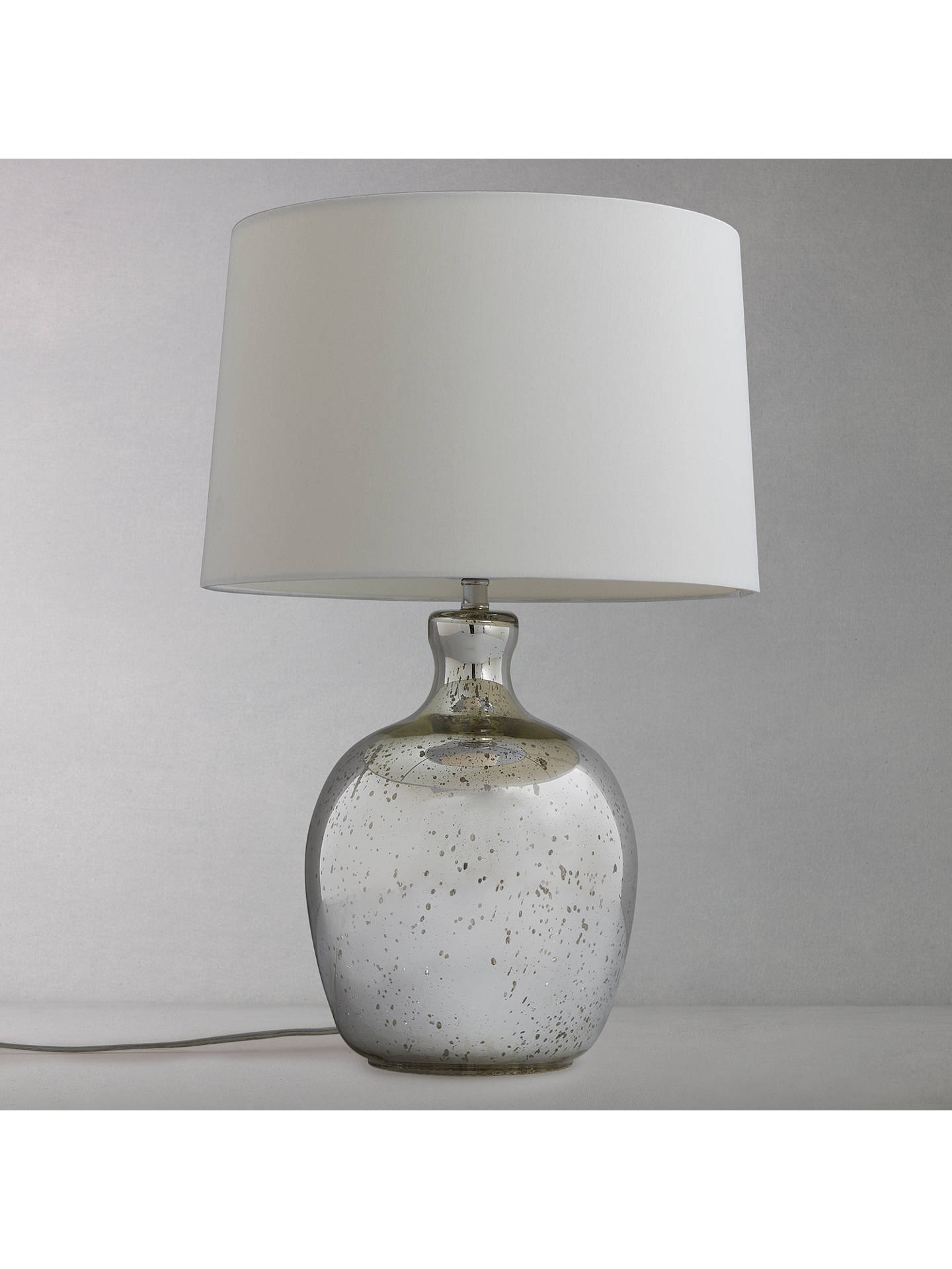 BuyJohn Lewis & Partners Tabitha Distressed Mirror Table Lamp Online at johnlewis.com