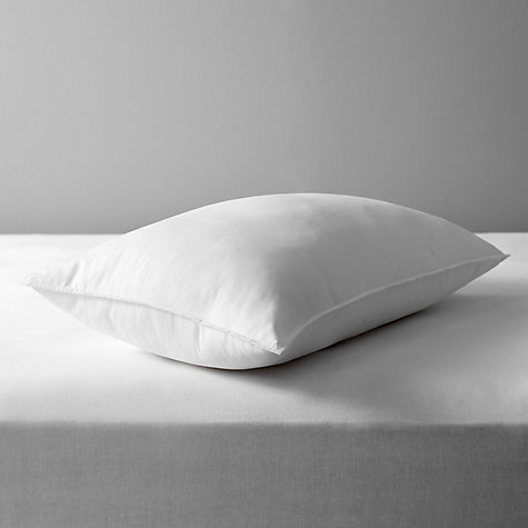 Buy John Lewis Synthetic Soft Touch Washable Standard Pillow, Medium/Firm Online at johnlewis.com