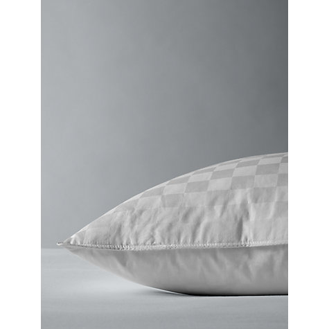 Buy John Lewis Natural Duck Feather and Down Standard Pillow, Soft/Medium Online at johnlewis.com