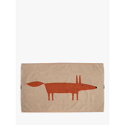Product photo of Scion mr fox bath mat