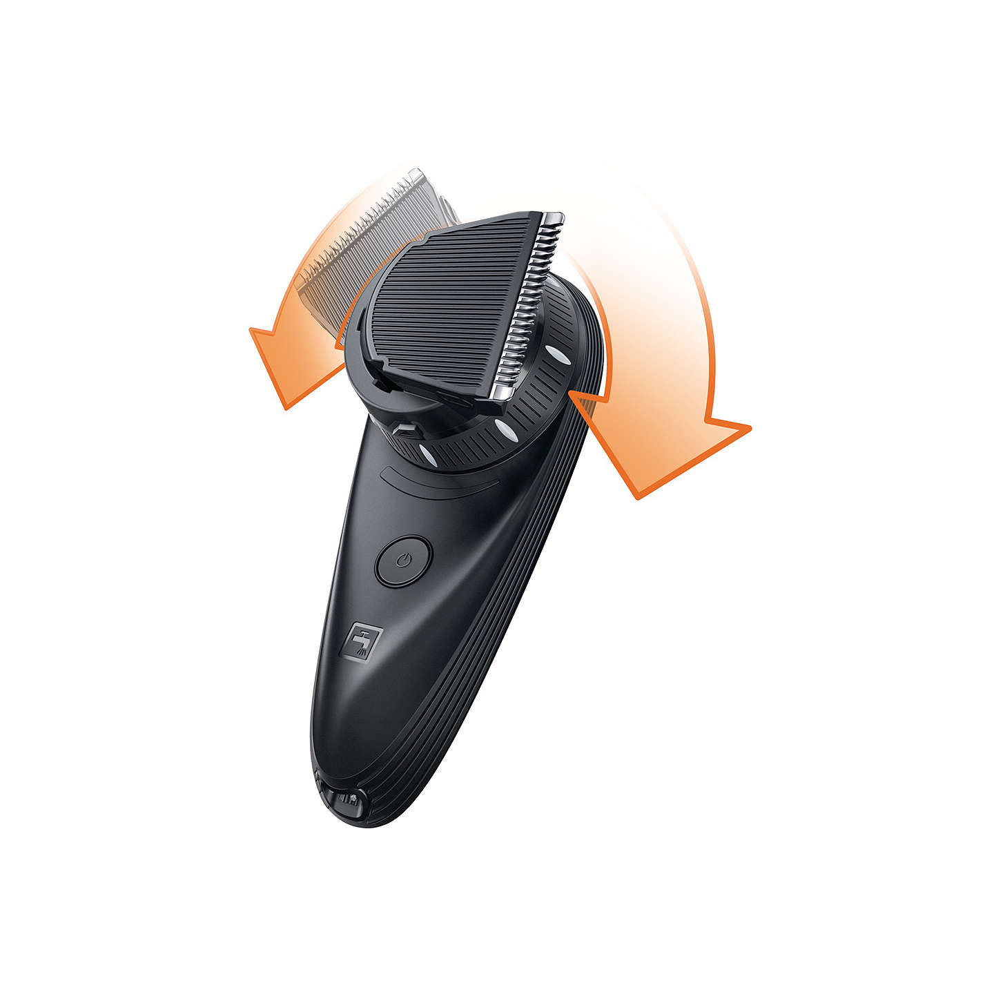 Philips qc557013 do it yourself hair clipper with 180 degree buyphilips qc557013 do it yourself hair clipper with 180 degree rotating head solutioingenieria Image collections