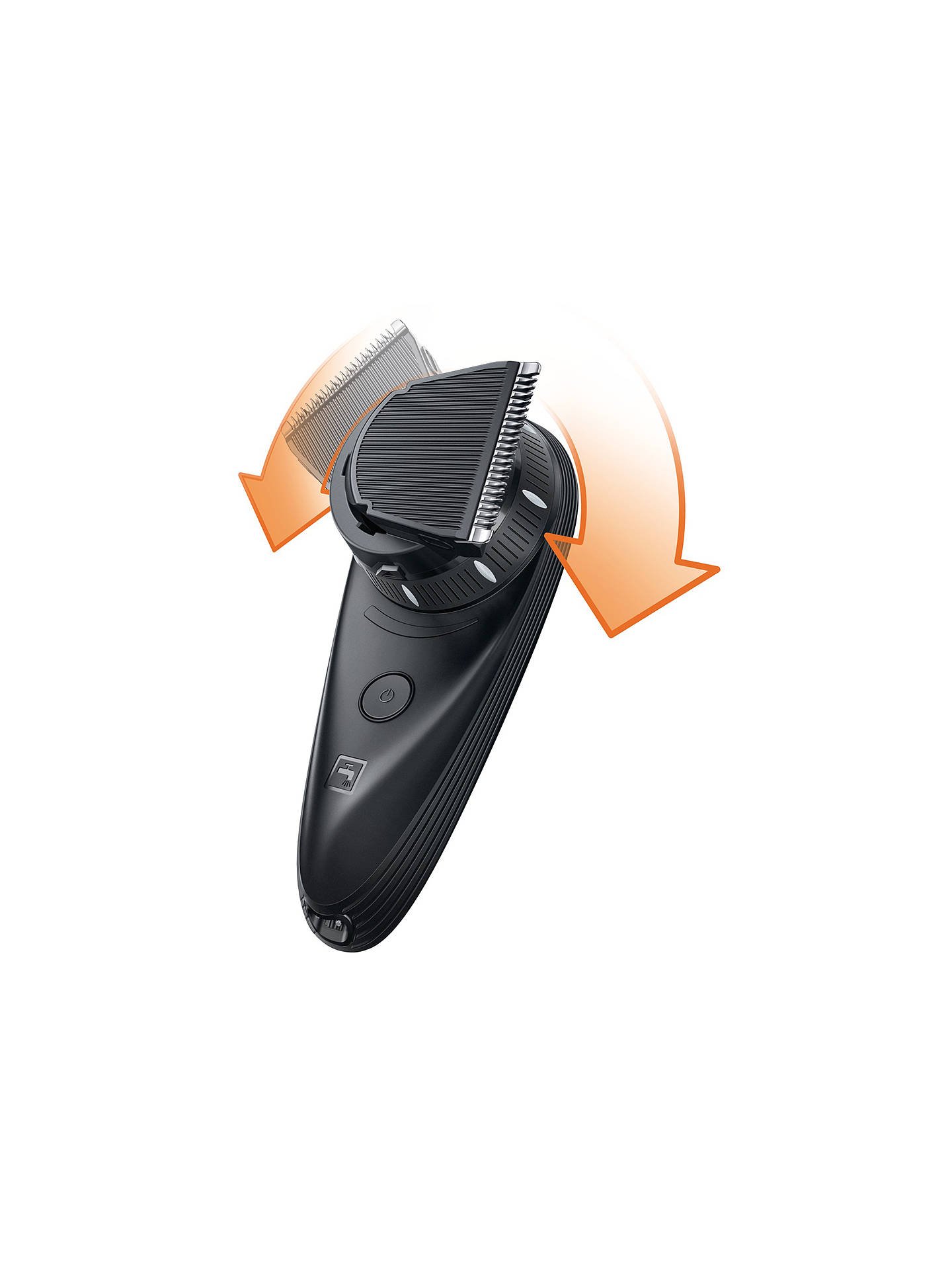 BuyPhilips QC5570/13 Do-It-Yourself Hair Clipper with 180 Degree Rotating Head Online at johnlewis.com