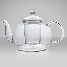 Buy John Lewis Glass Teapot with Infuser, 1.2L Online at johnlewis.com
