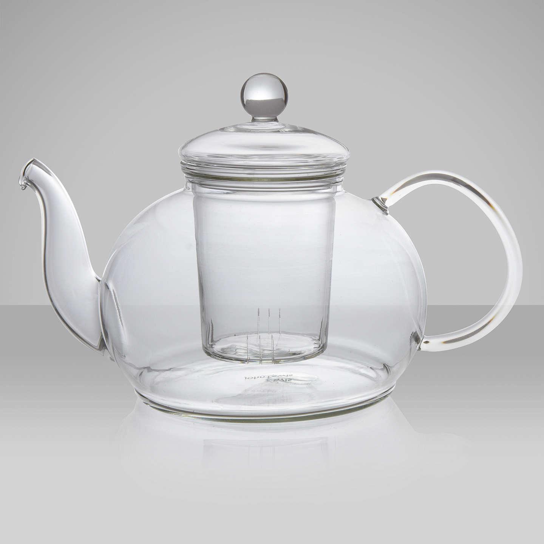 john lewis glass teapot with infuser 1 2l at john lewis. Black Bedroom Furniture Sets. Home Design Ideas
