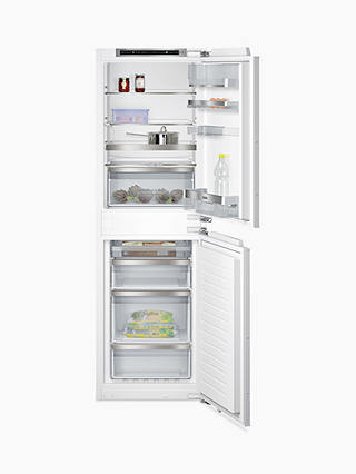Buy Siemens KI85NAD30G Integrated 50/50 Fridge Freezer, Fixed Door Hinge, A++ Energy Rating, 56cm Wide, White Online at johnlewis.com