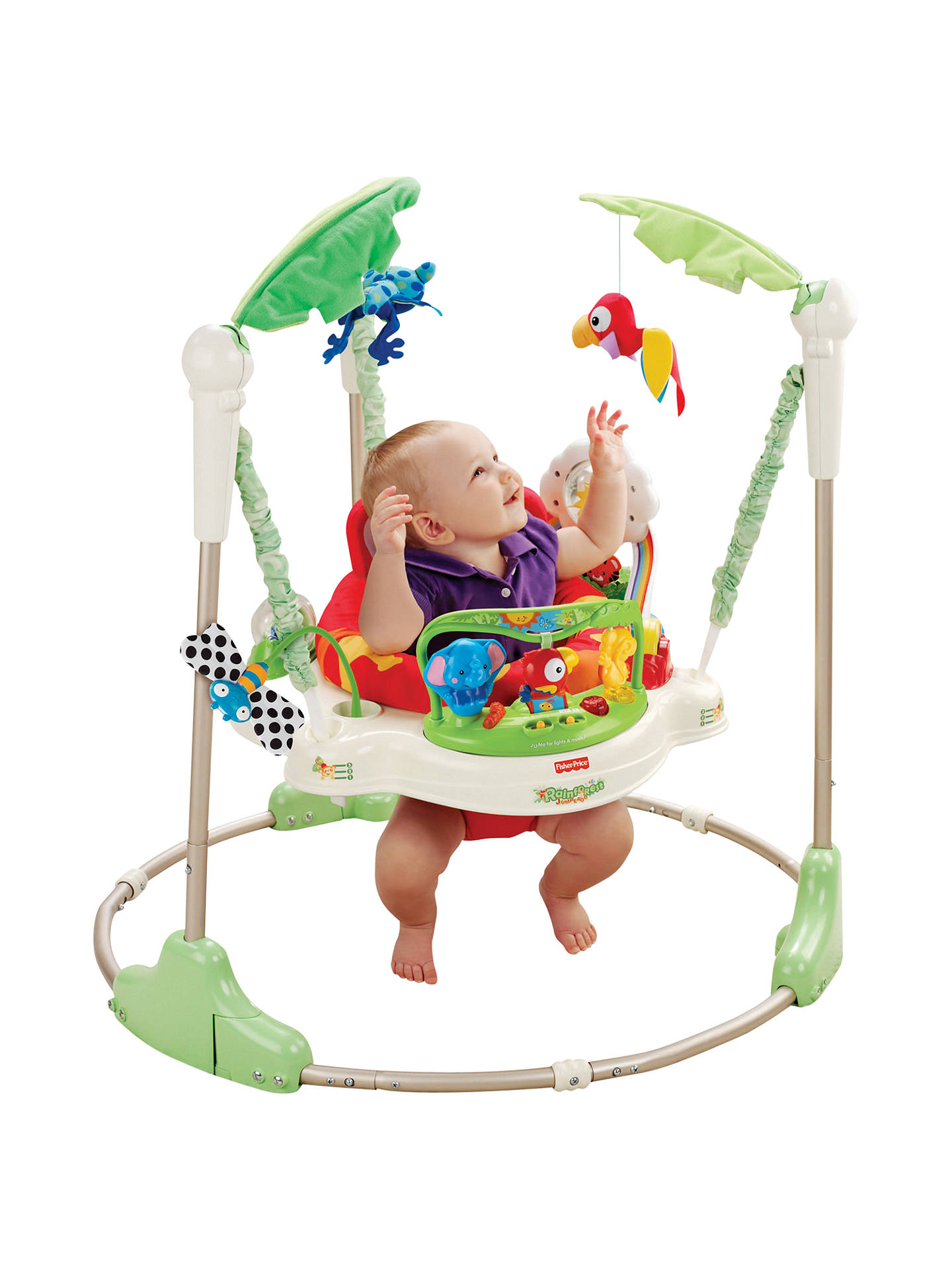 14244b4fd Fisher Price Rainforest Jumperoo at John Lewis   Partners