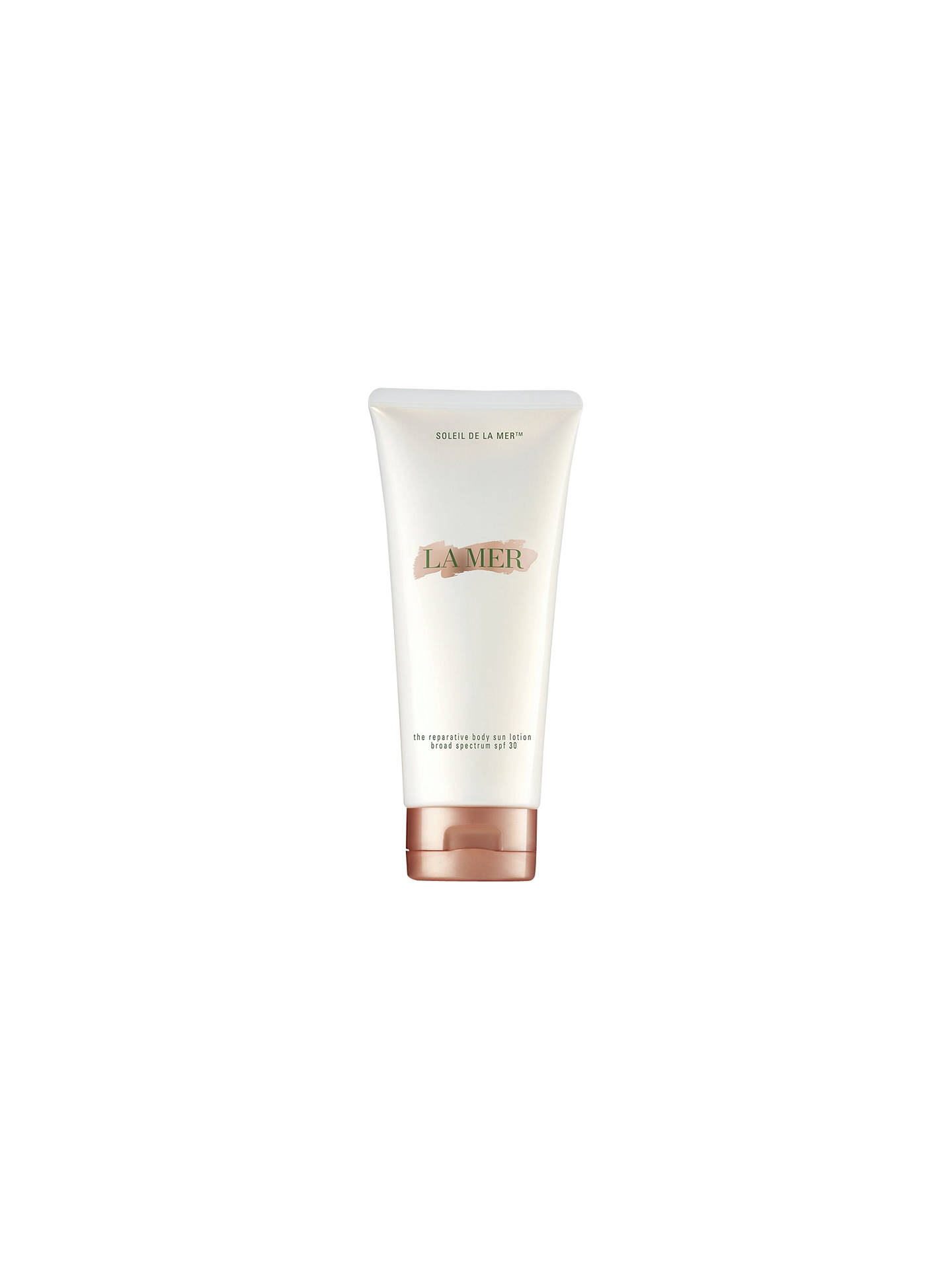 Buy La Mer The Reparative Body Sun Lotion SPF30, 200ml Online at johnlewis.com
