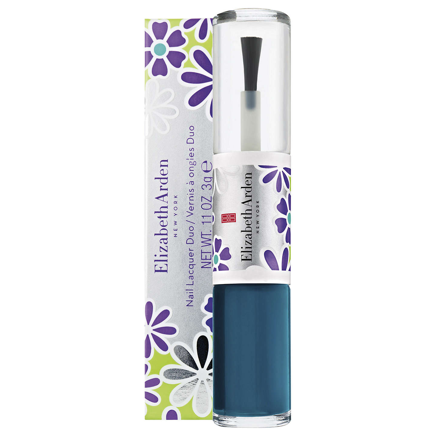 Elizabeth Arden Limited Edition Nail Lacquer Duo, Teal Blossom at ...