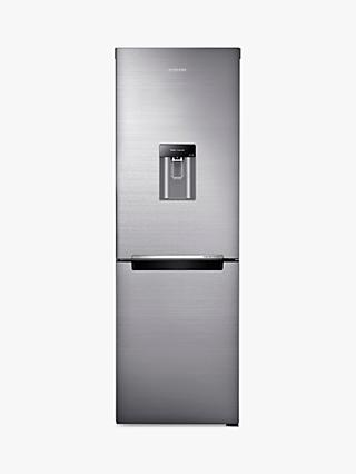 Samsung RB29FWRNDSS Freestanding 70/30 Fridge Freezer with Water Dispenser, 60cm Wide, Brushed Steel
