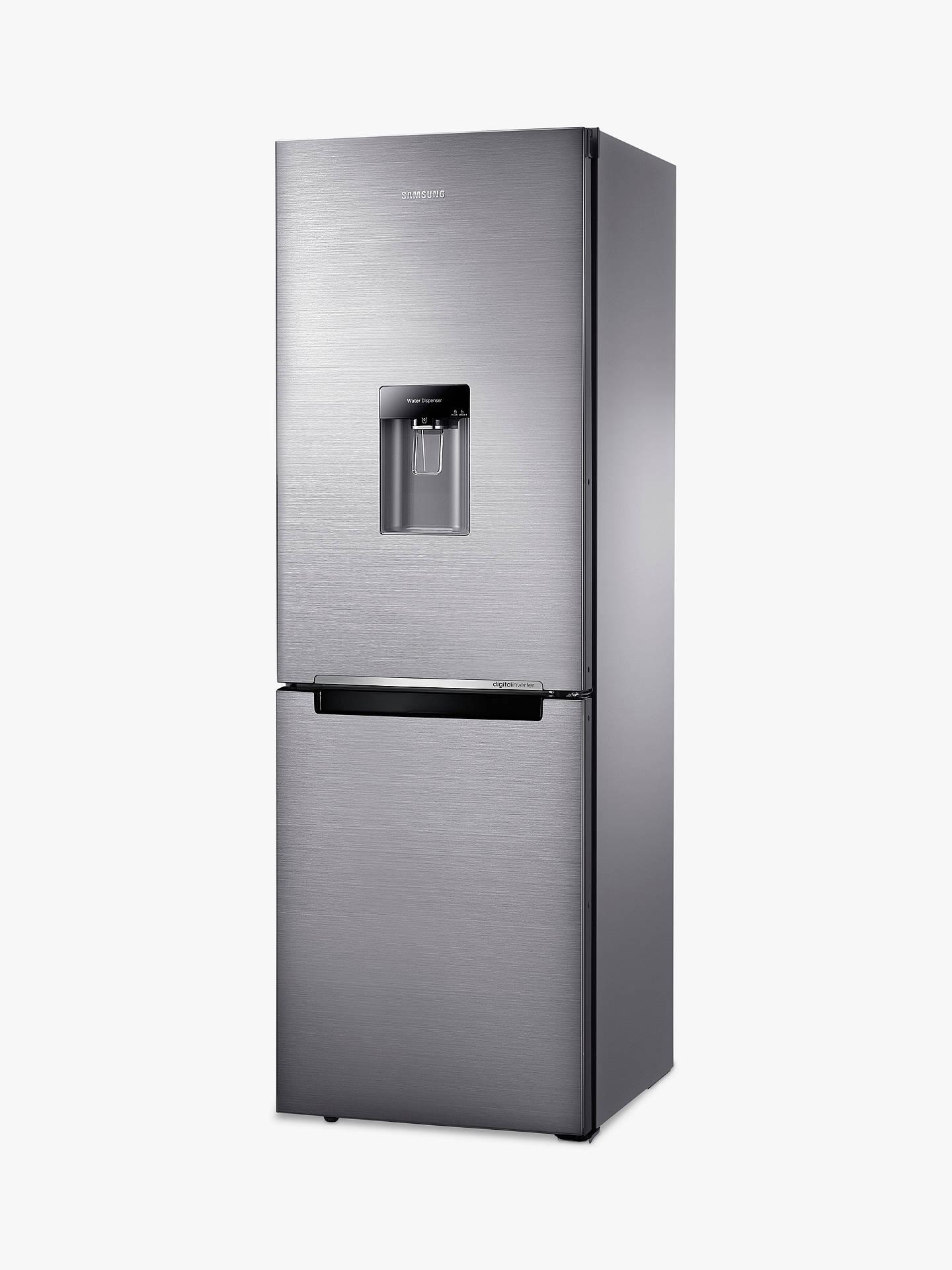 Samsung RB29FWRNDSS Fridge Freezer, Brushed Steel