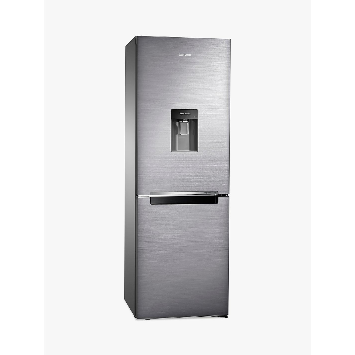 samsung fridge freezer. buy samsung rb29fwrndss fridge freezer, brushed steel online at johnlewis.com freezer i