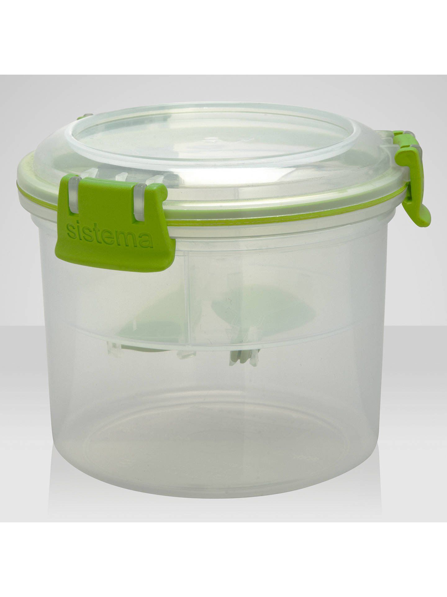 BuySistema Breakfast to Go Container Set Online at johnlewis.com