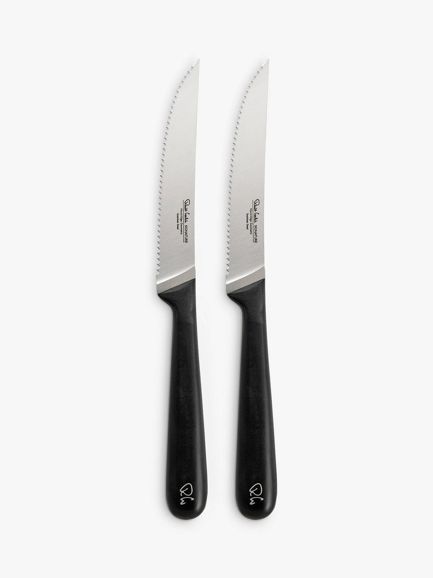BuyRobert Welch Signature Steak Knives, Set of 2 Online at johnlewis.com