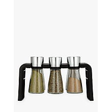 Buy Cole & Mason Shaw 6 Jar Filled Spice Rack Online at johnlewis.com