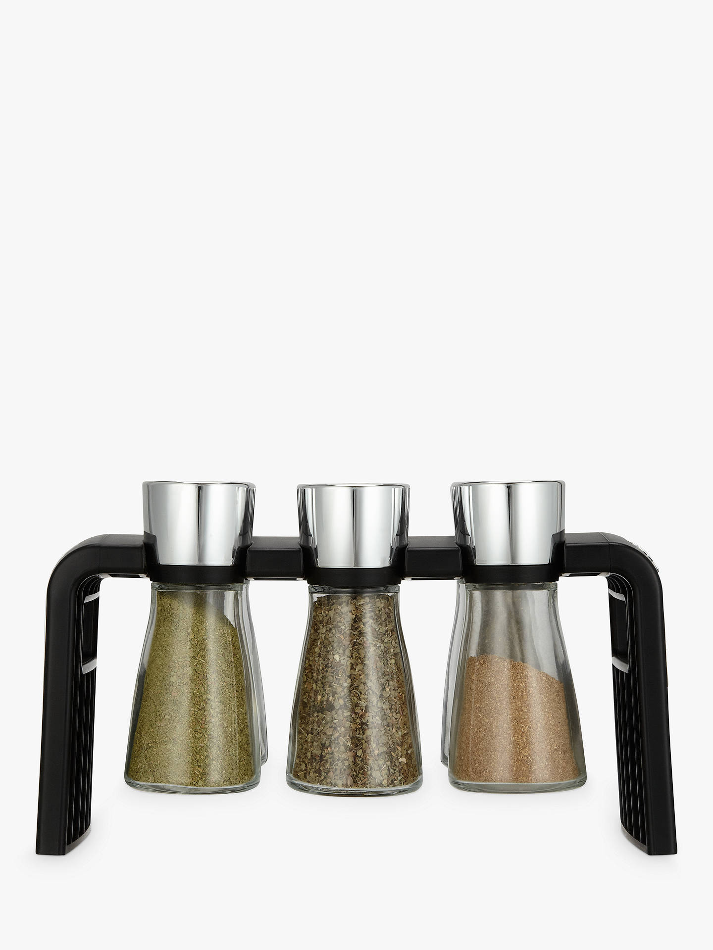BuyCole & Mason Shaw 6 Jar Filled Spice Rack Online at johnlewis.com