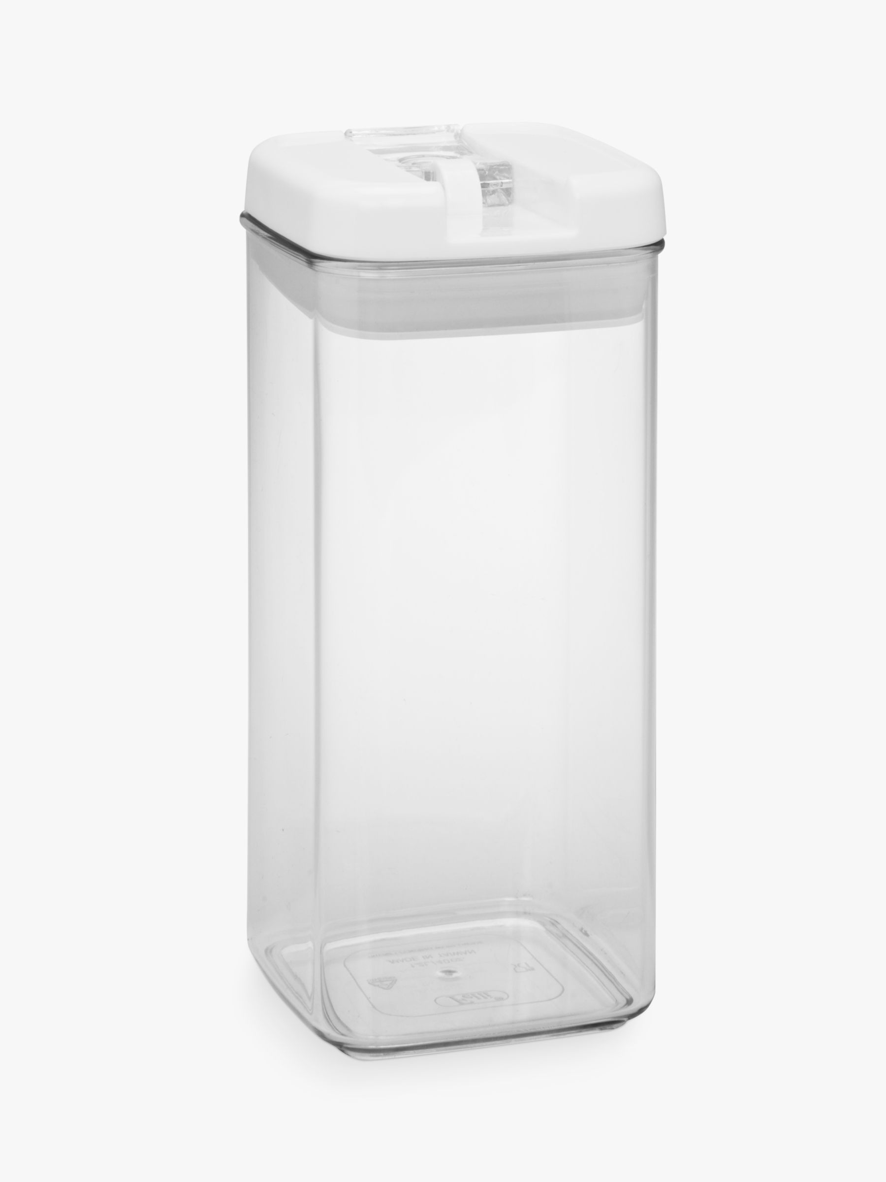 John Lewis Flip Tite Tall Storage Container 12L at John Lewis