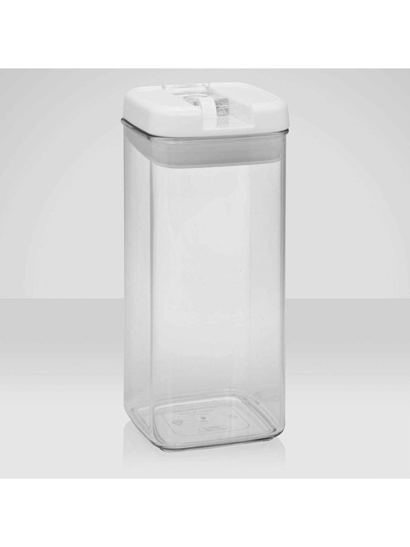 Buy John Lewis & Partners Flip-Tite Tall Storage Container, 1.2L Online at johnlewis.com