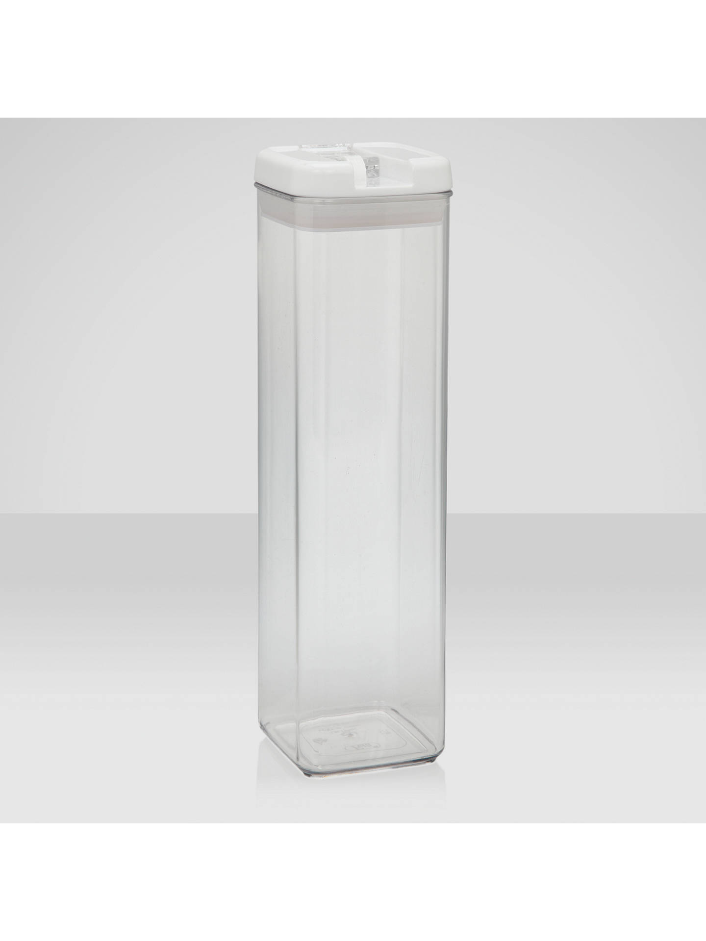 Buy John Lewis & Partners Flip-Tite Tall Storage Container, 1.9L Online at johnlewis.com