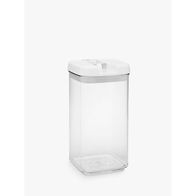 John Lewis Flip-Tite Square Storage Container, 2.4L