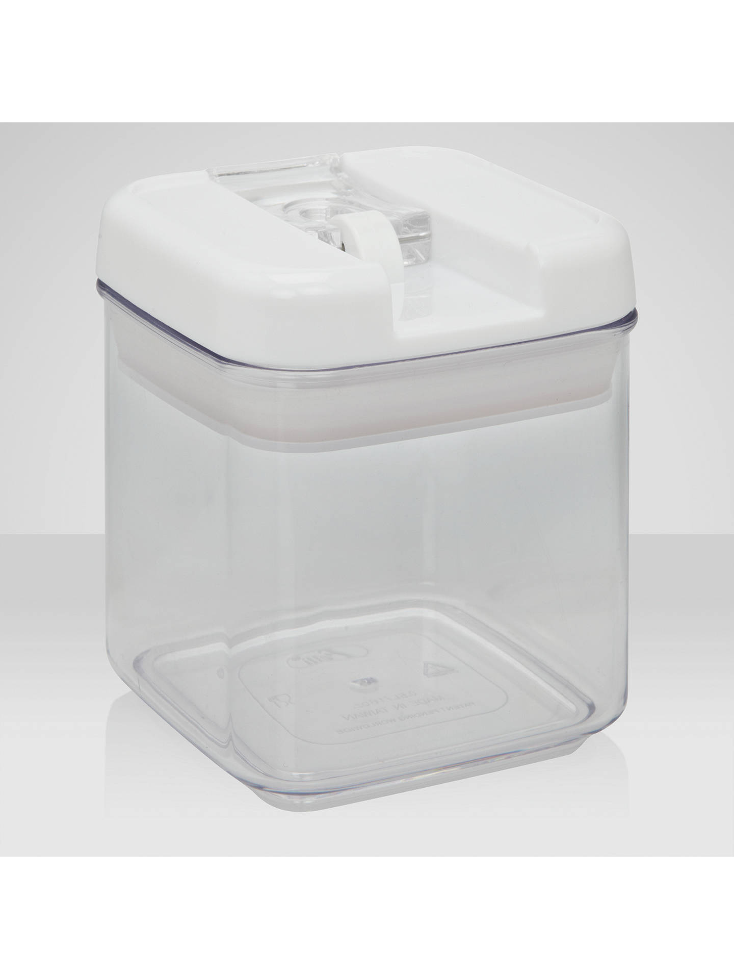 BuyJohn Lewis & Partners Flip-Tite Square Storage Container, 0.5L Online at johnlewis.com