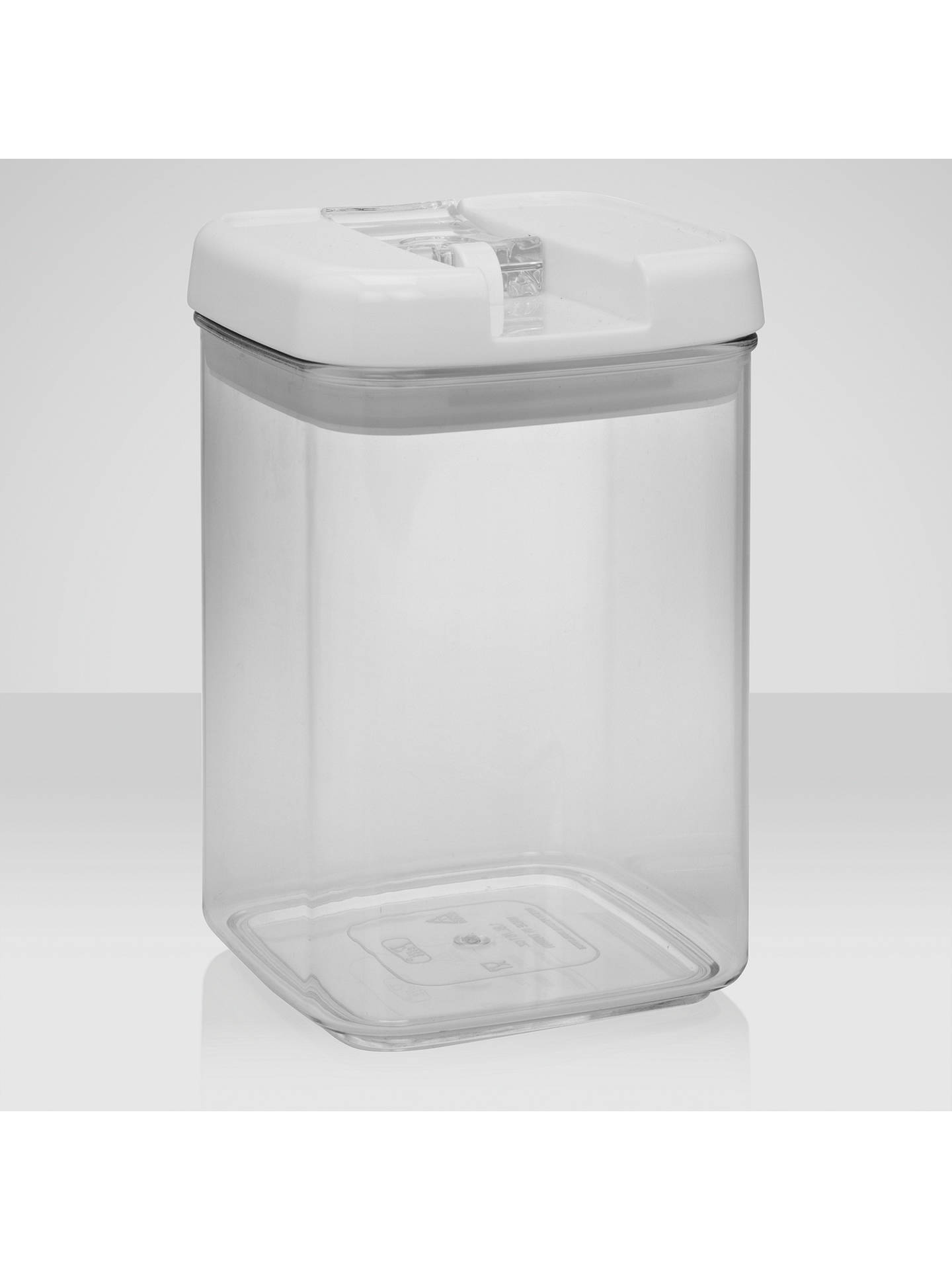 BuyJohn Lewis & Partners Flip-Tite Square Storage Container, 1.8L Online at johnlewis.com