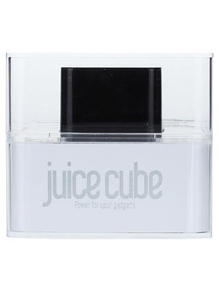 Buy Juice Cube, Emergency Mobile Charger, Black Online at johnlewis.com