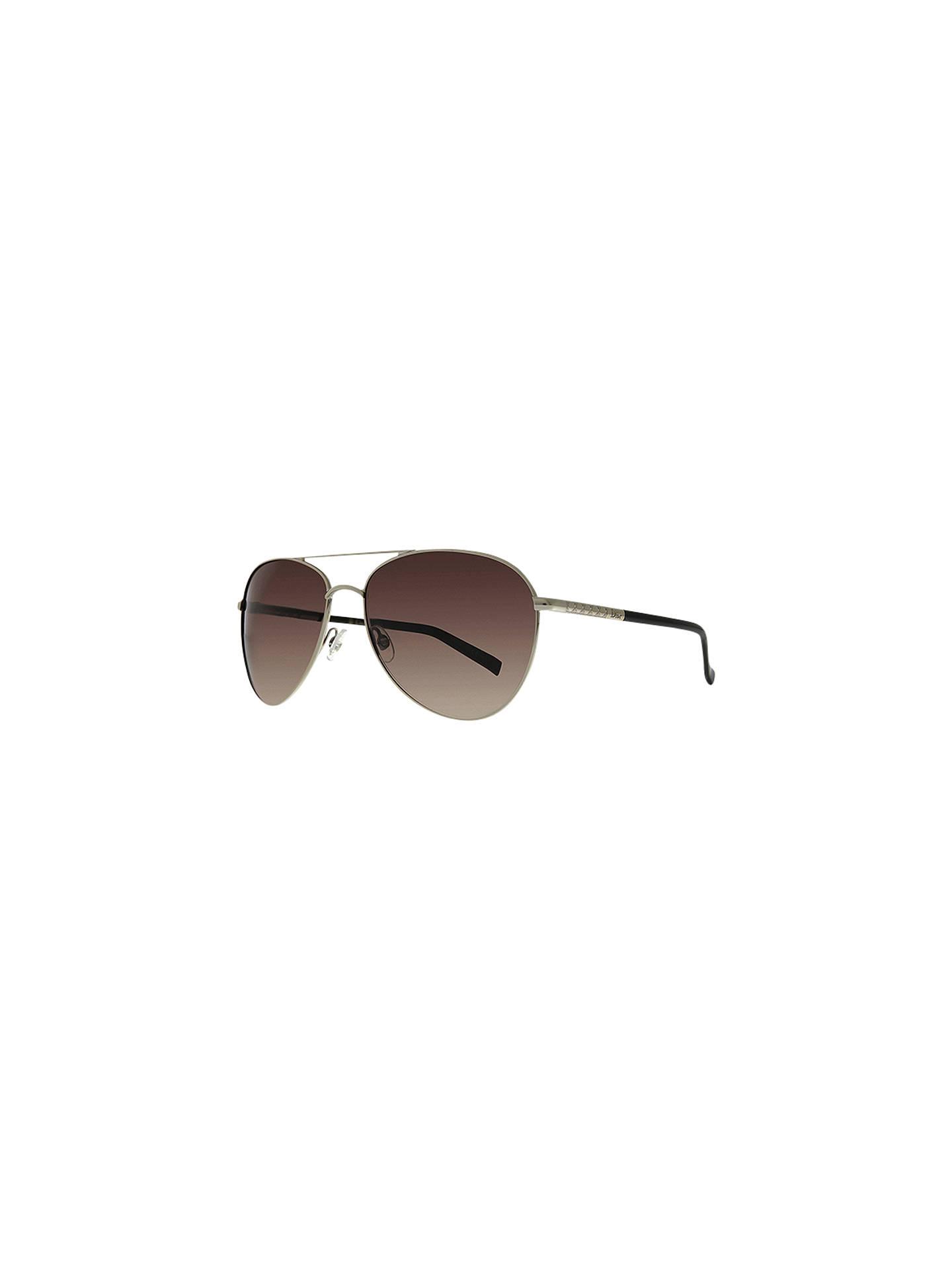 aec7f5614e0a Buy Christian Dior Piccadilly 2 Aviator Sunglasses, Light Gold Online at  johnlewis.com ...