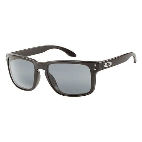 Buy Oakley OO9102 Holbrook Prizm Polarised Square Sunglasses Online at johnlewis.com