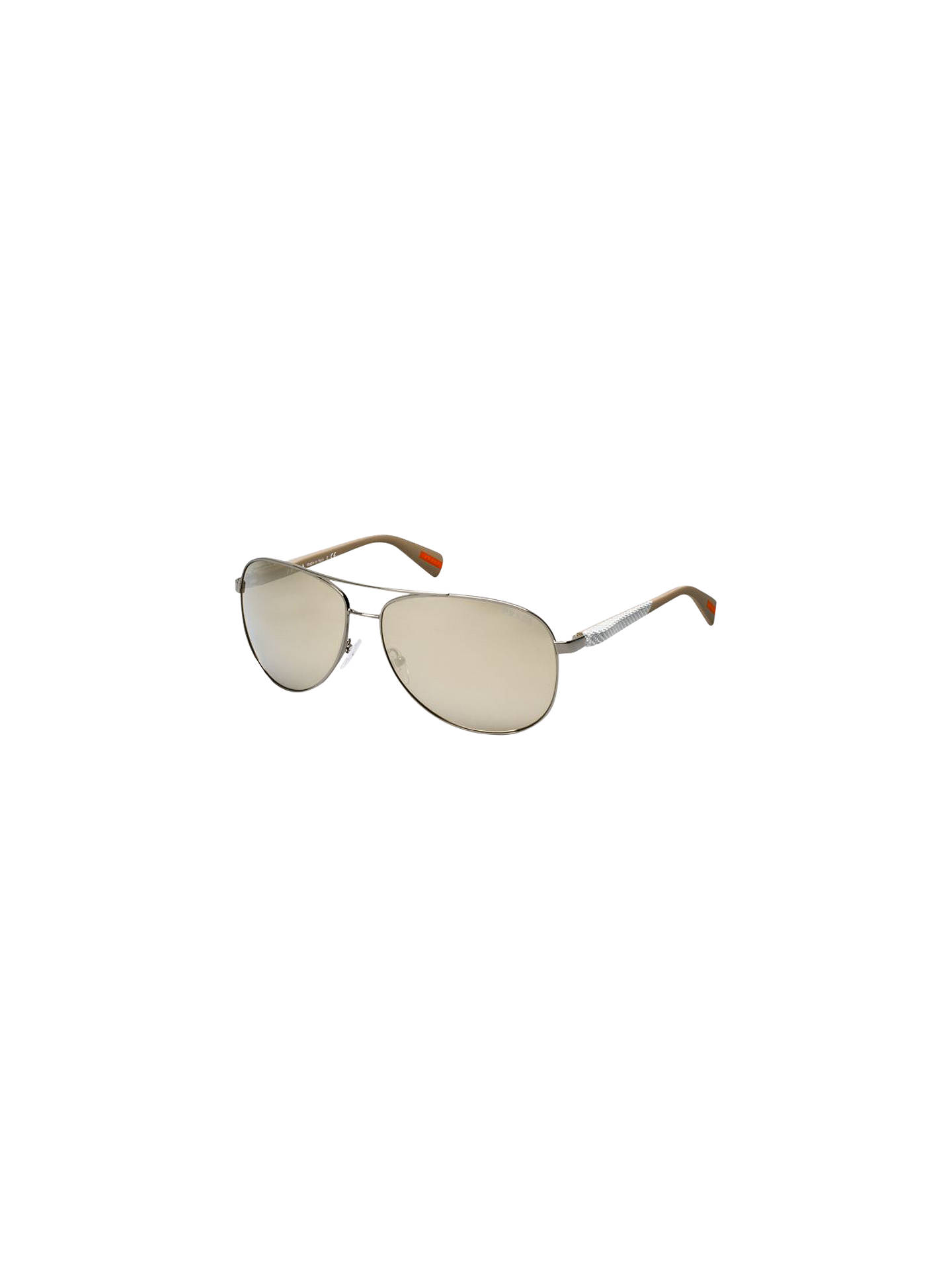 829a7b5aa2 Prada Linea Rossa PS510S Lifestyle Aviator Sunglasses at John Lewis ...