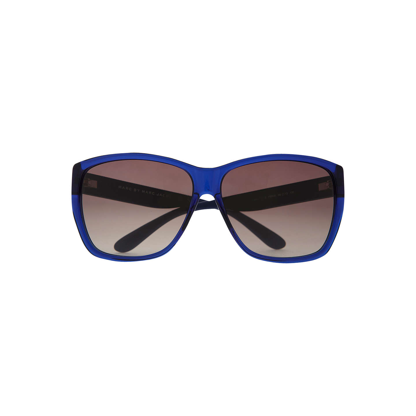 BuyMarc by Marc Jacobs MMJ315/S Square Sunglasses, Blue Online at johnlewis.com