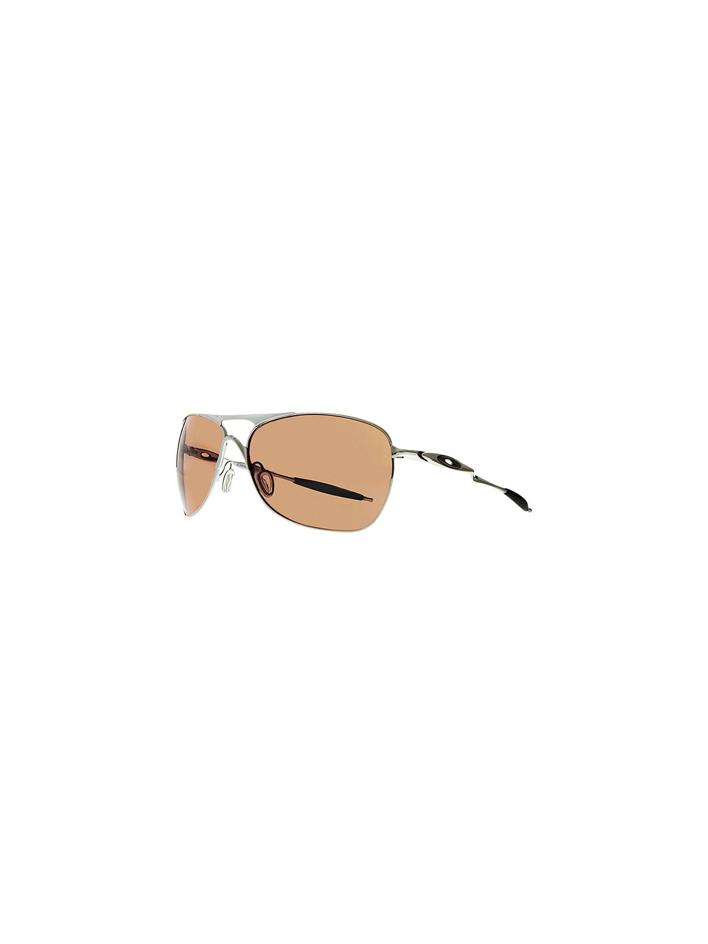 f33cba7e78 Oakley OO4060 Cross Hair Square Sunglasses at John Lewis   Partners