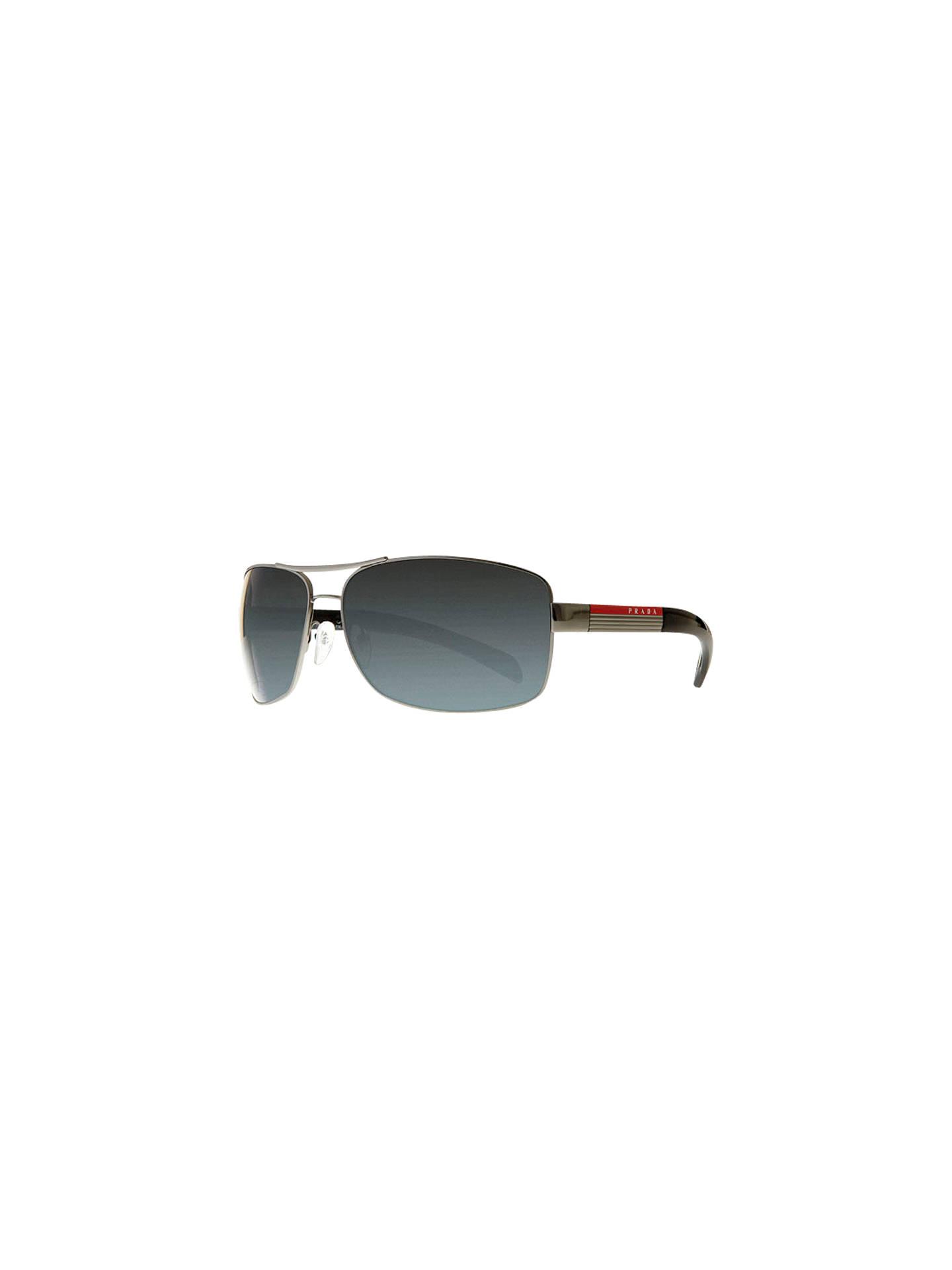 cbe7e6a8396 BuyPrada Linea Rossa PS541S Aviator Polarised Sunglasses